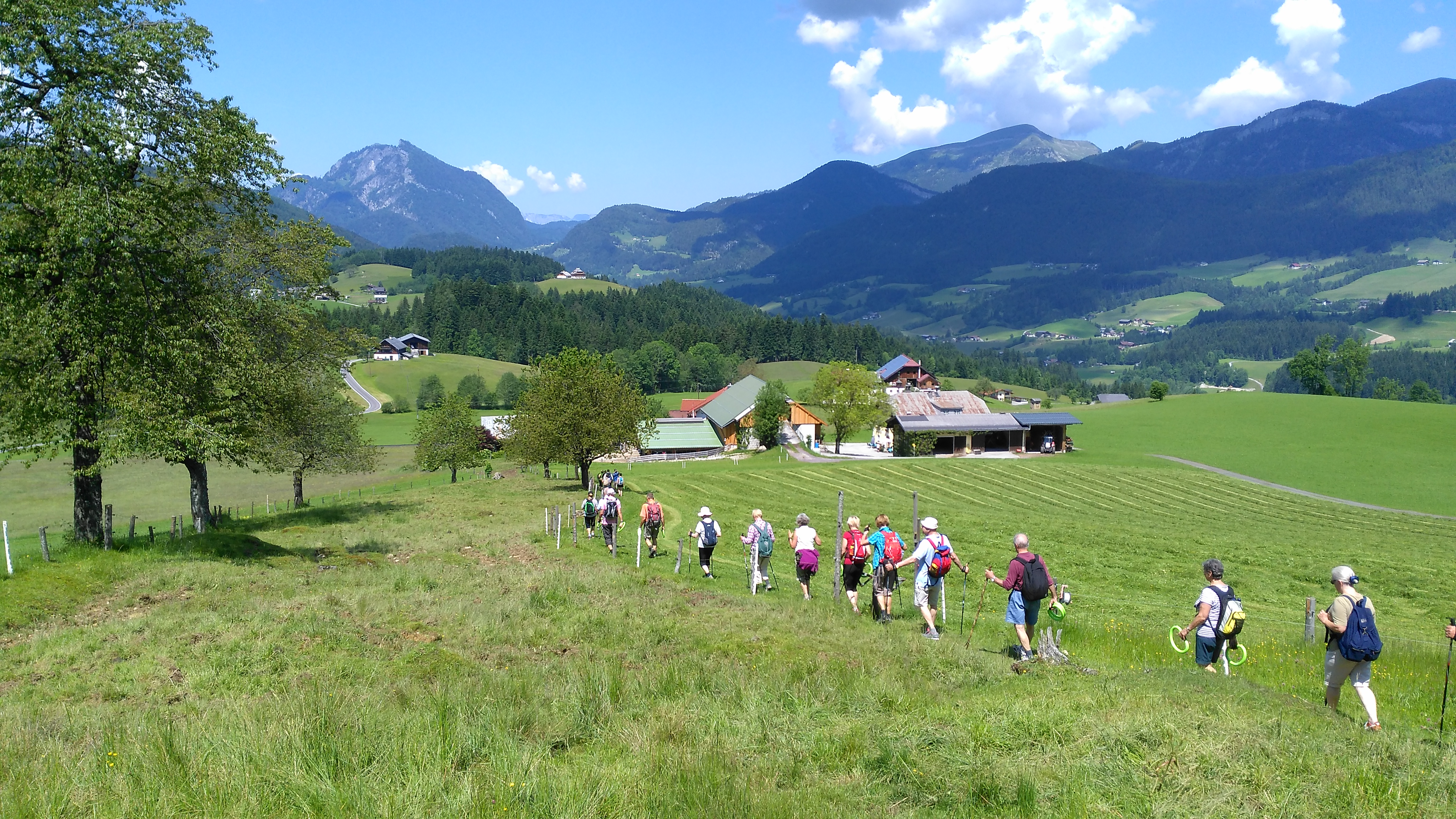 Jungbrunnen-BERG Studie Wanderung in Abtenau